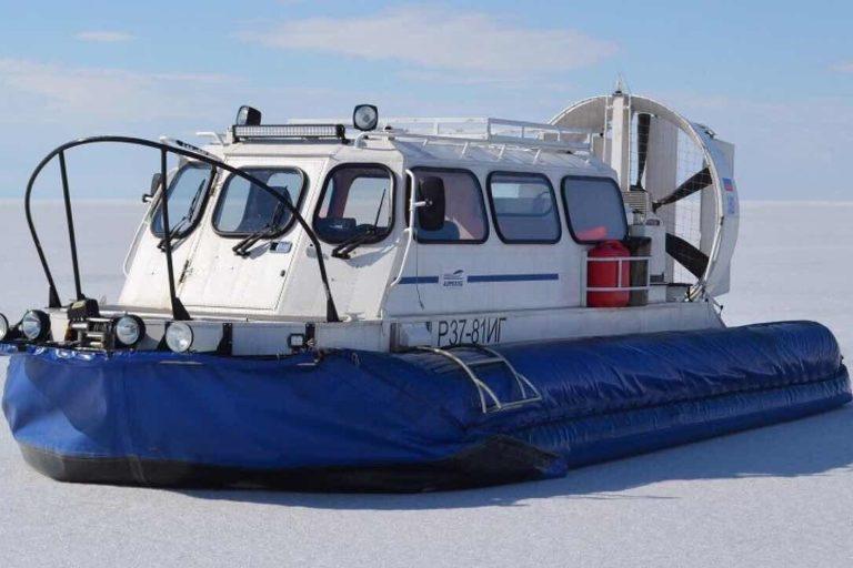 Однодневные туры на судне на воздушной подушке