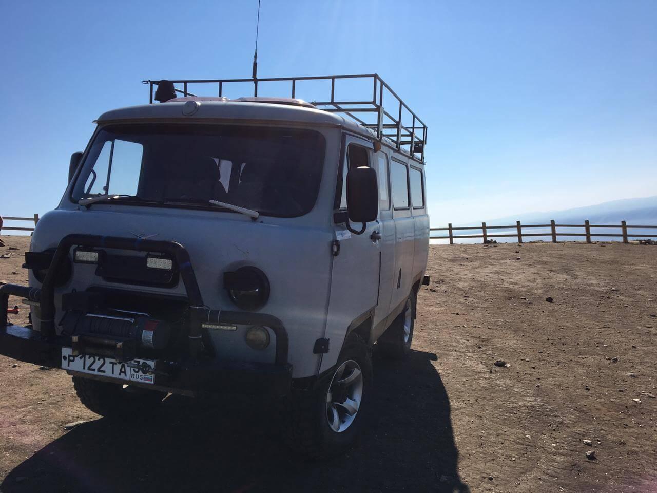 Аренда транспорта на Байкале - УАЗик