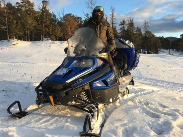 Катание на Снегоходах по Байкалу
