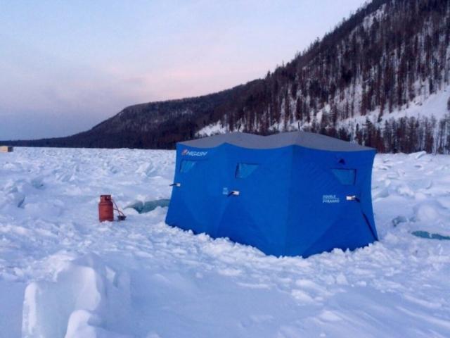Туры на Байкал в Бурятии - Зимняя рыбалка